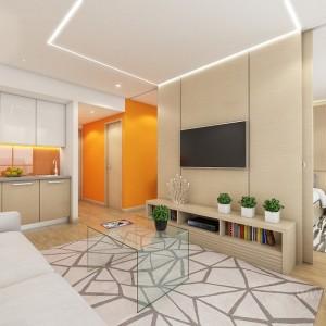 Hotel suit orange