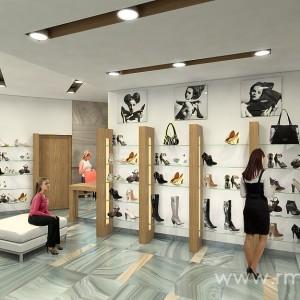 Shoe boutique design